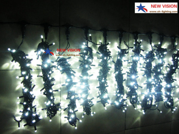 rubber wire led curtain light
