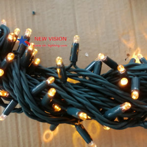 Rubber wire waterproof IP65 holiday decoration led play light